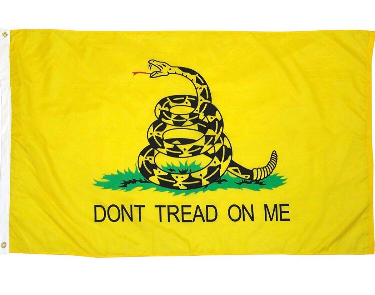 Don T Tread On Me Flag In 2020 Gadsen Flag Gadsden Dont Tread On Me