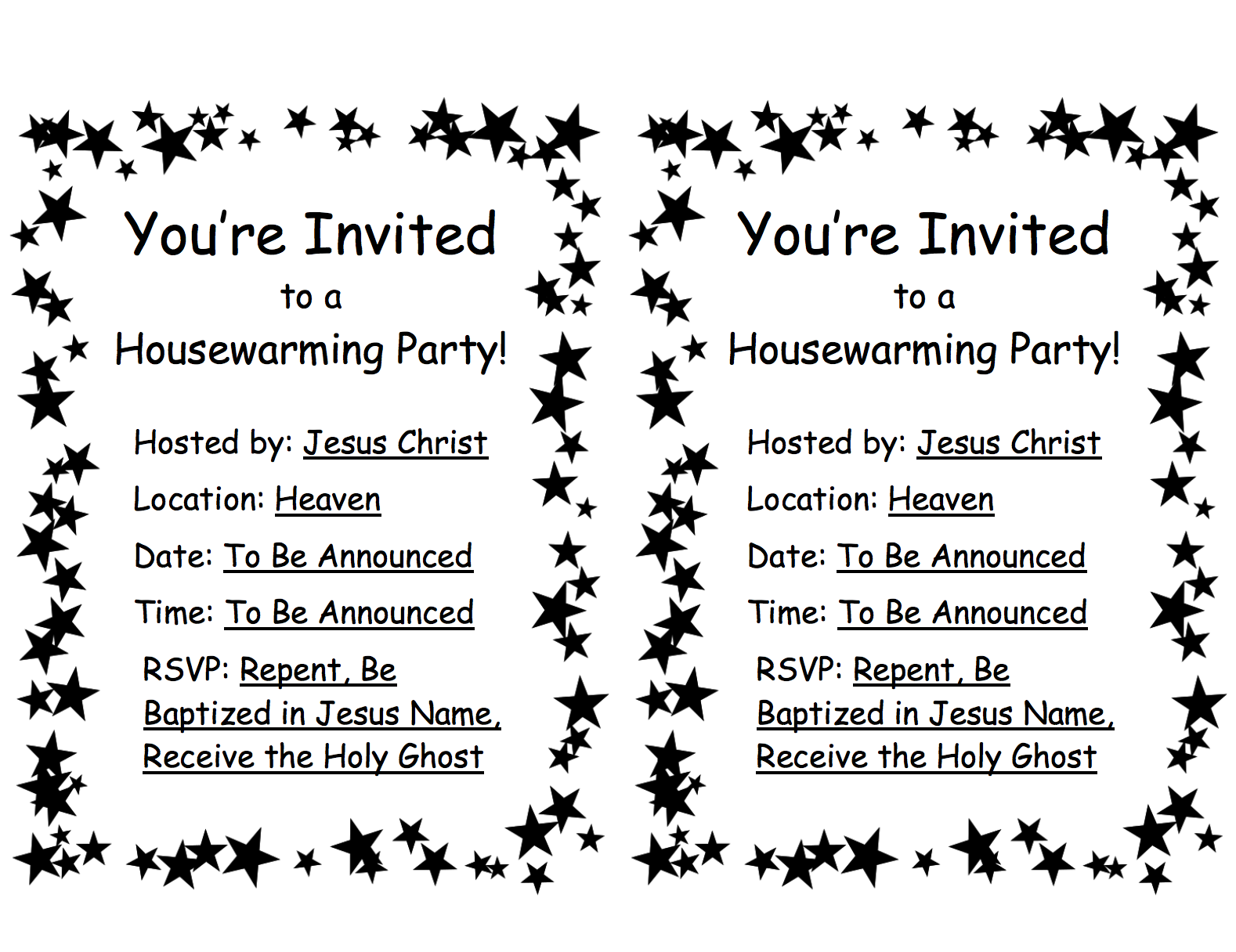 free printable invitation for rapture lesson kids church sunday