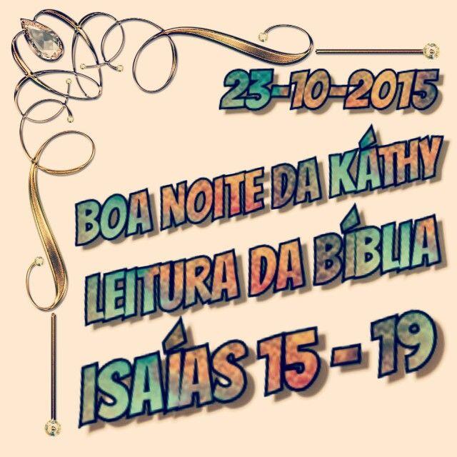 Isaías 15 - 19