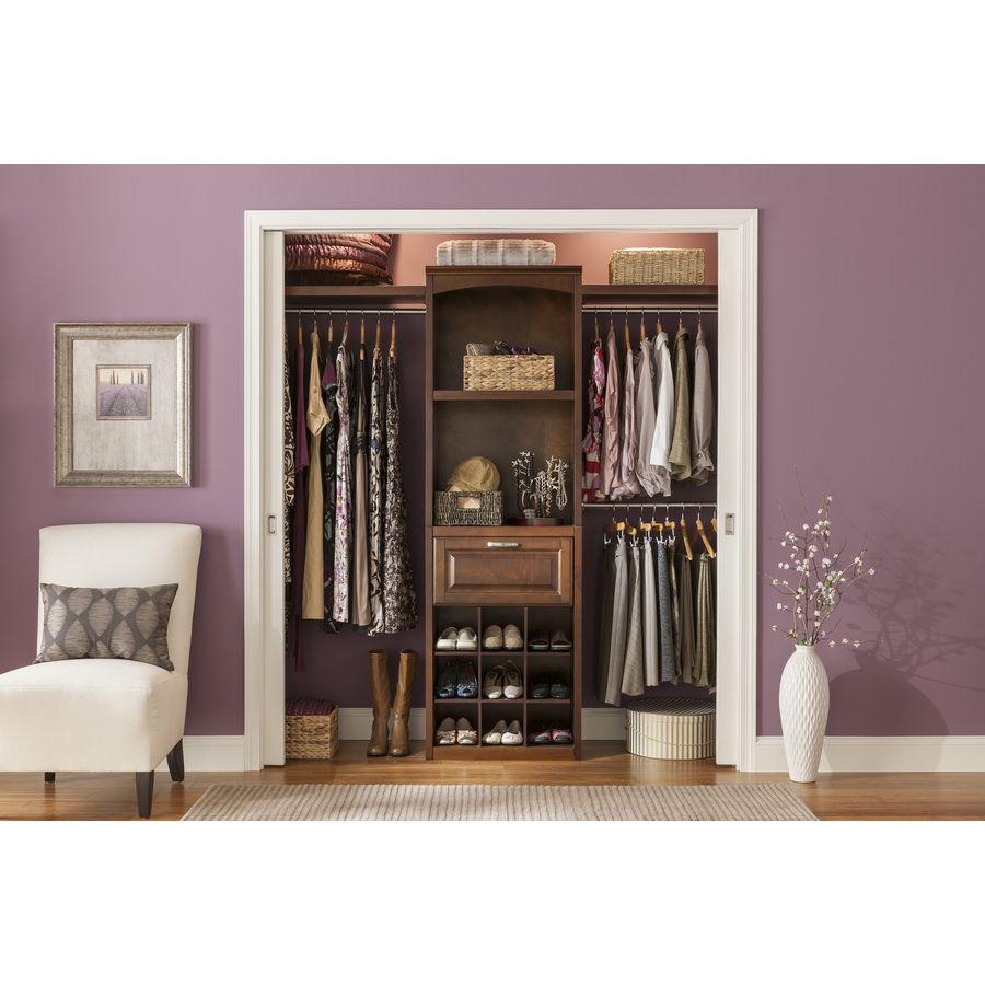 looks cute for greg and devons closets shop allen roth 8 ft java rh pinterest com