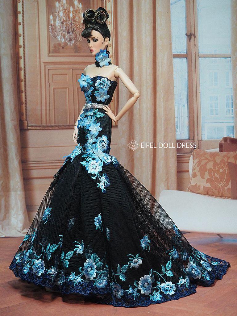 New Dress for sell EFDD | barbies Puppen, Barbie und Puppen