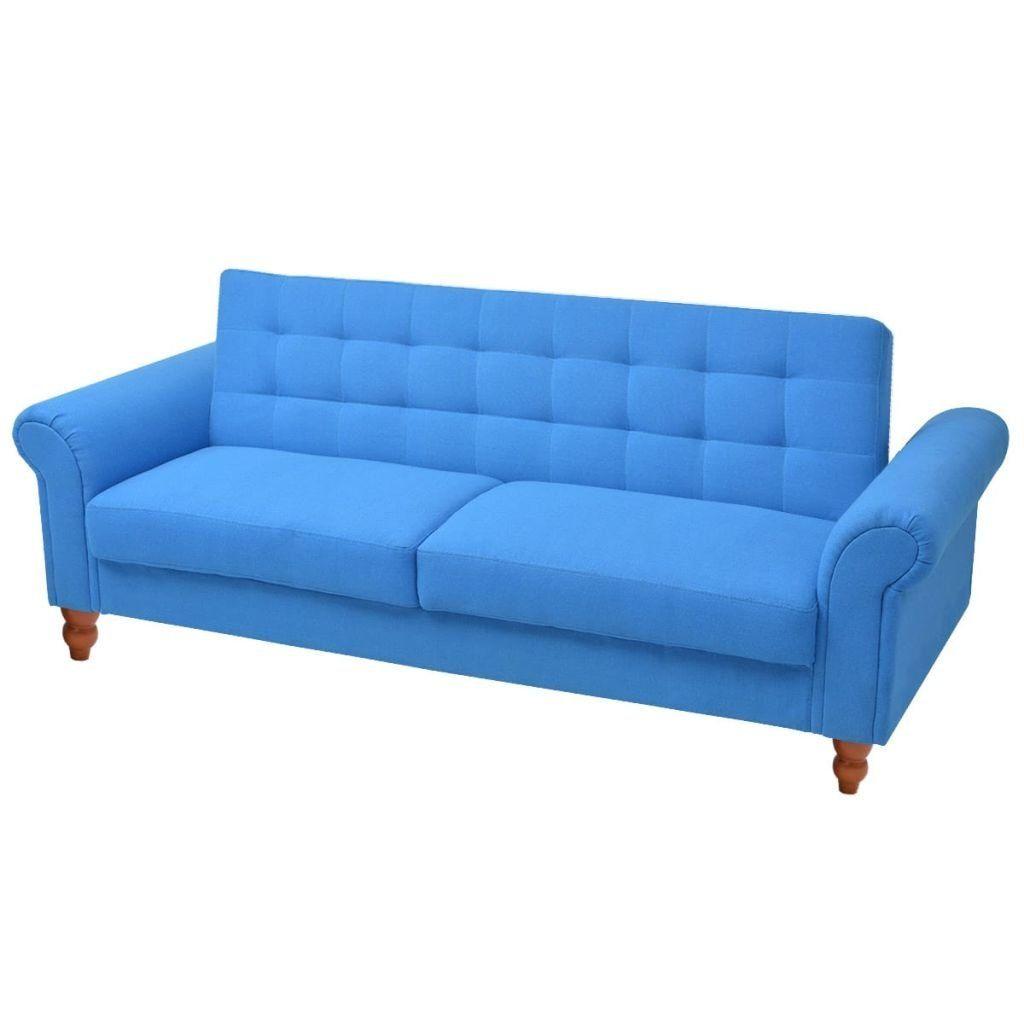 convertible reclining sofa bed fabric blue living room sectional rh pinterest com