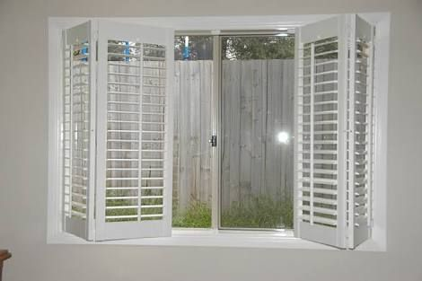 images of 4 plantation shutters folding back google search rh pinterest com