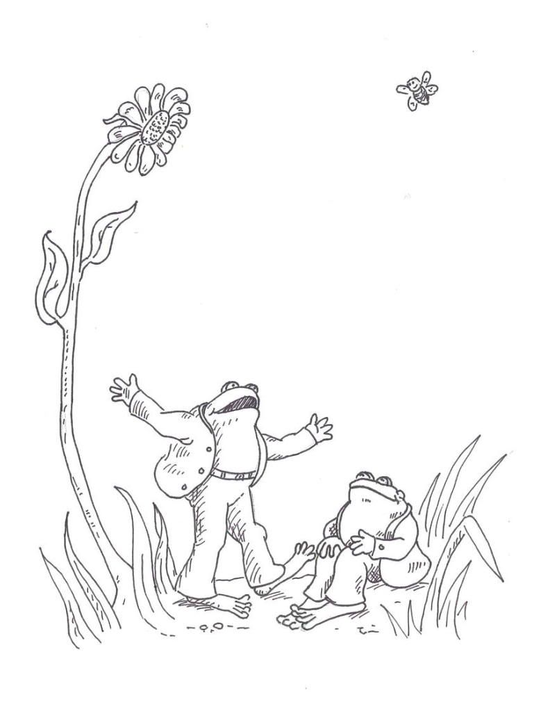 Frog And Toad B W Frog Coloring Pages Coloring Pages Frog And Toad