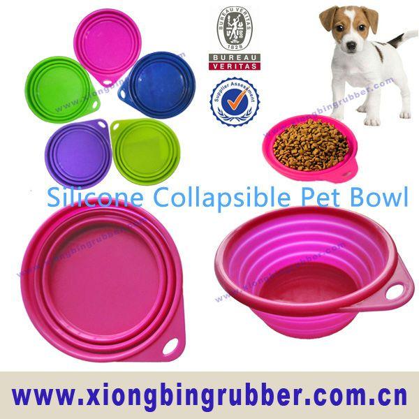 Dog bowl1. FDA,LFGB approval.2. 100% food grade silicone bowl3. Foldable  Portable4. Eco-friendly,odorless  non-toxic