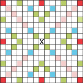 picture relating to Printable Scrabble Board Template named Printable Scrabble Grid My Clroom Recommendations Scrabble