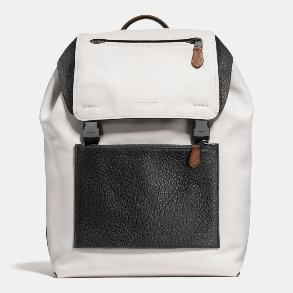2aaec83e8 COACH Manhattan Backpack in Mixed Leather. #coach #bags #leather #backpacks  #