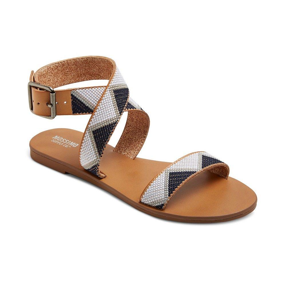 Women S Nadia Quarter Strap Sandals Mossimo Supply Co Navy Blue 7 5