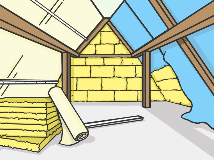 Zwischensparrendämmung am Dach selber anbringen Anleitung