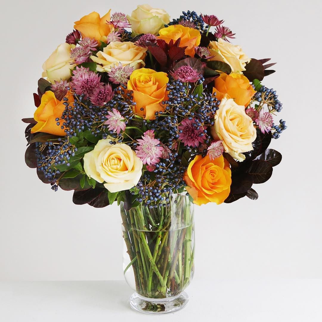 Introducing Autumn Dream This Bouquet Collects All Colours Of An