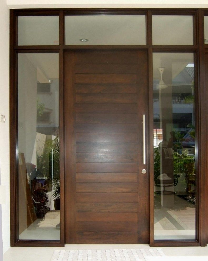 Single Front Door Designs Engaging Tasty Interior