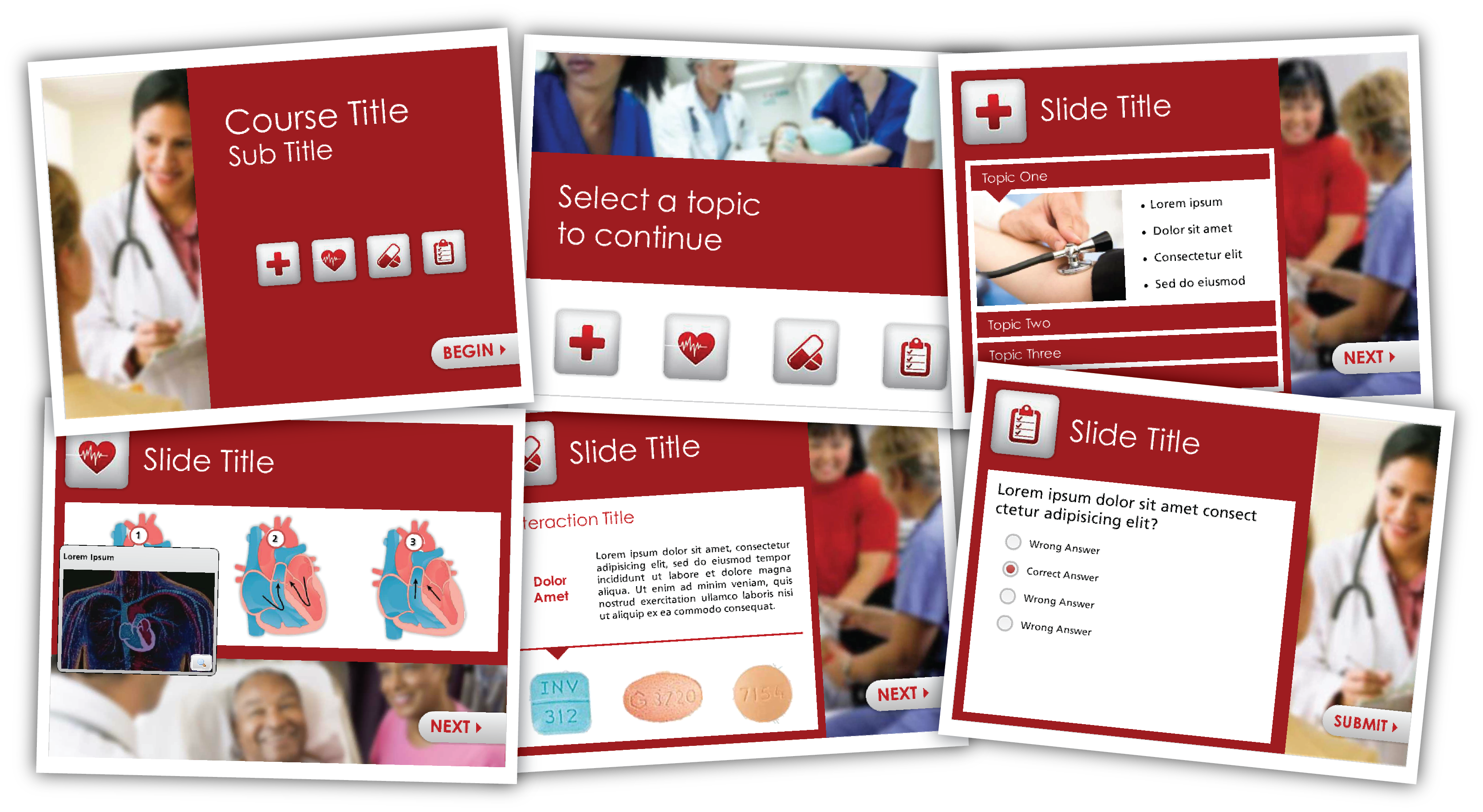 Free Medical Articulate Storyline Template - Building Better Courses ...