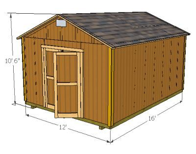 Diy Shed Plans And Blueprints. Www.Mysheddesigns.Com | Diy
