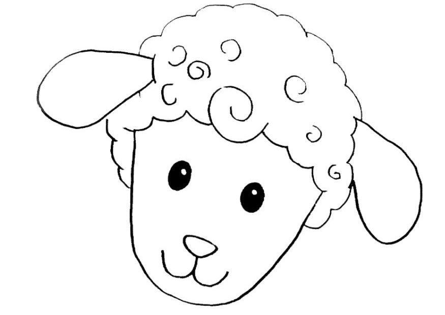 moldes de mascaras de ovejas para imprimir imagui