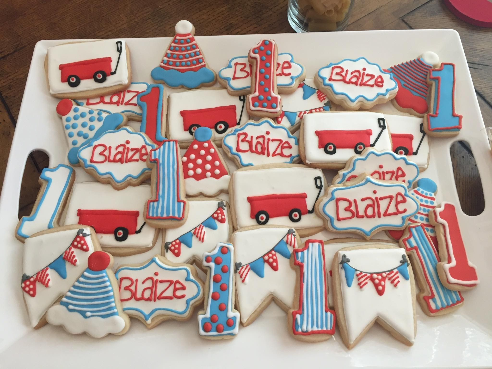 Red Wagon Cookies With Images