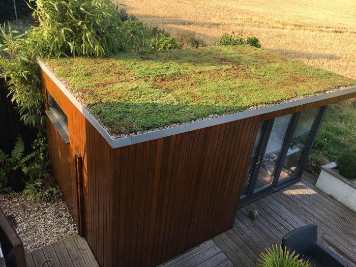 Garden Rooms   Green Roofs Direct   Skur