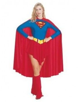 Lovely Sweet Supergirl Adult Cosplay Costume Sell Online