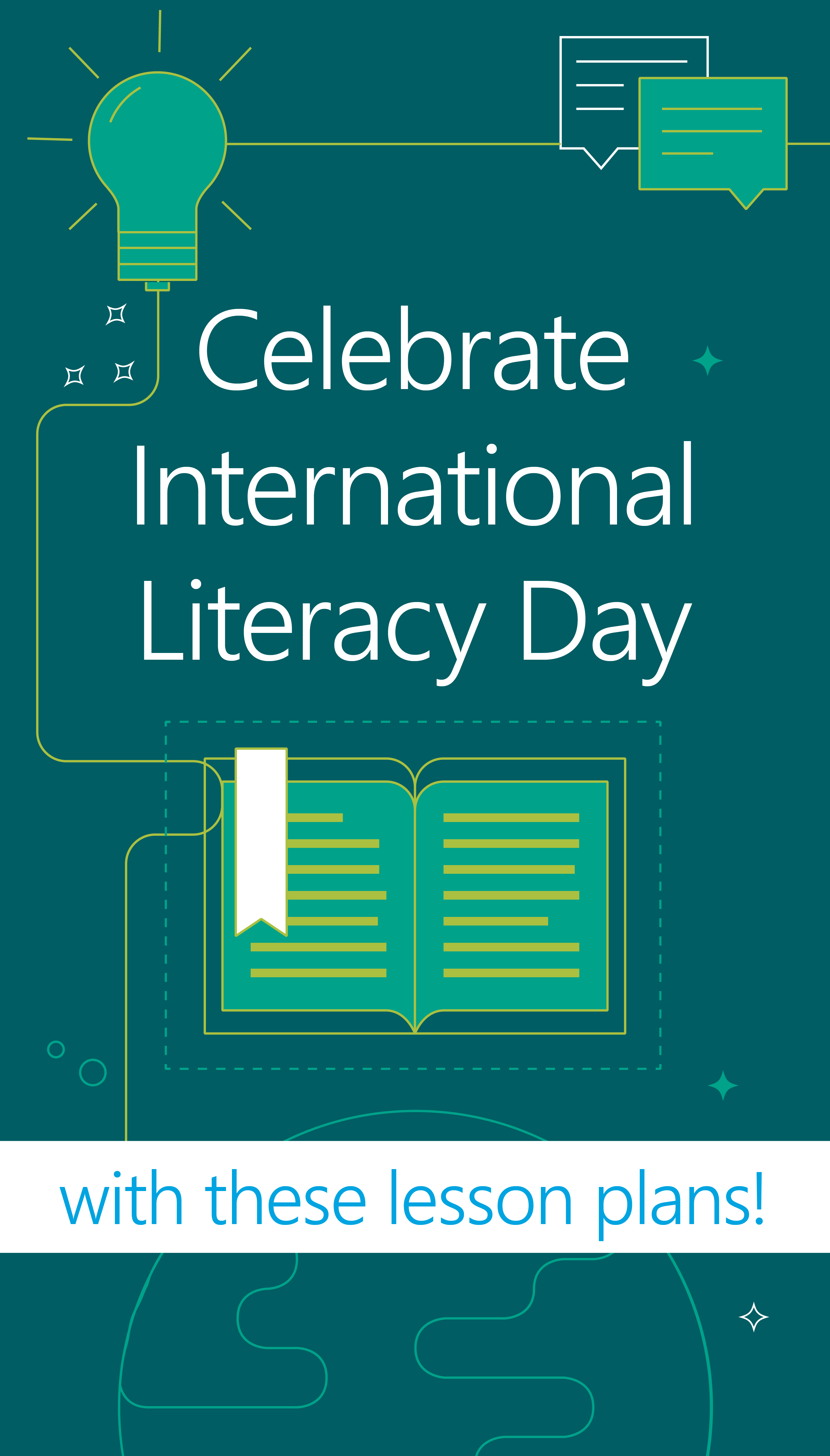 International Literacy Day is coming up! Celebrate with