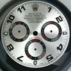 CUSTOM MADE ROLEX DAYTONA DIAL WITH ARABIC NUMERALS STEEL WITH BLACK TRACKING  #watch #watches #rolexdaytona