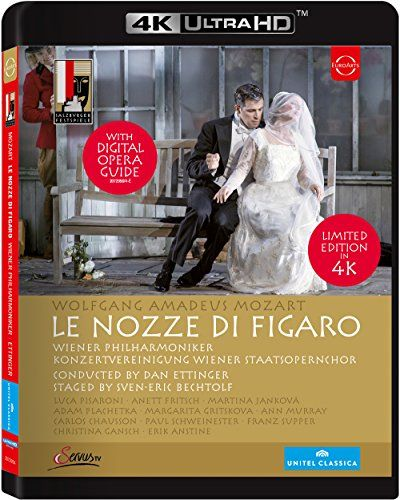 Mozart Die Hochzeit Des Figaro 4k Ultra Hd Wiener Philharmoniker Festspiele Oper