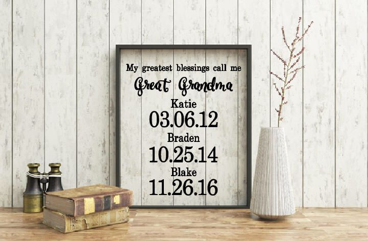 My greatest blessings call me Grandma Quote, Floating Frame, Quote ...