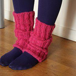 comment faire des guetres au tricot