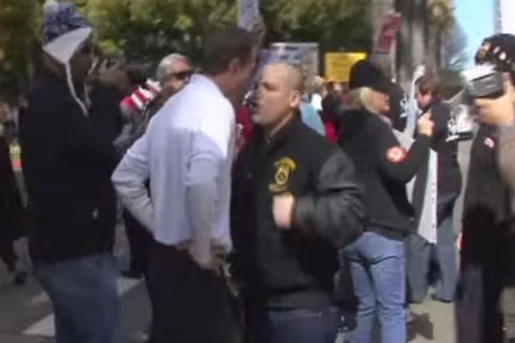 VIDEO: A Liberal Thug Thought It Was Smart To Attack A Tea-Party Member, Then THIS Happened To Him
