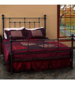 Complete Your Bedroom Decor With This Austen Queen Size Bed This Bed