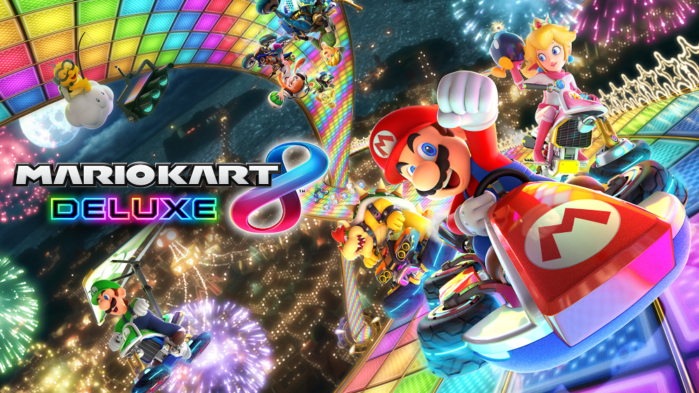 Race And Battle Your Friends In Thedefinitive Version Of Mario Kart 8 Mario Kart 8 Mario Kart Mario Kart Games