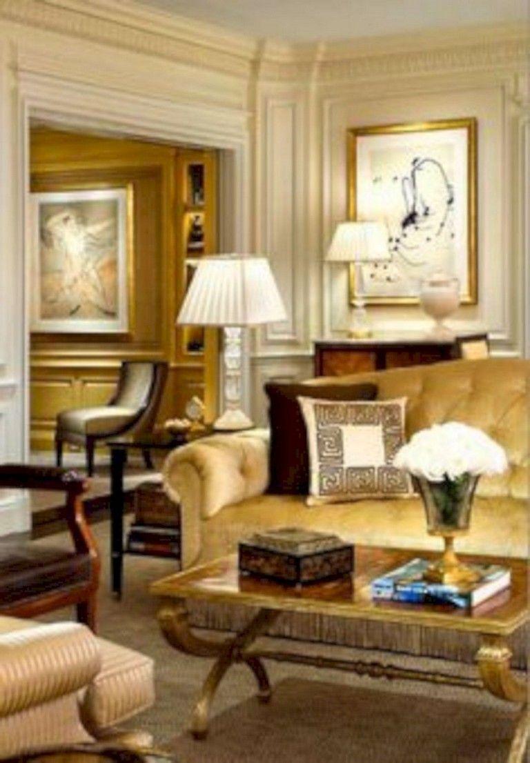 46 Elegant Living Room Design Ideas For Luxurious Home Elegant Living Room Design Elegant Living Room Traditional Design Living Room