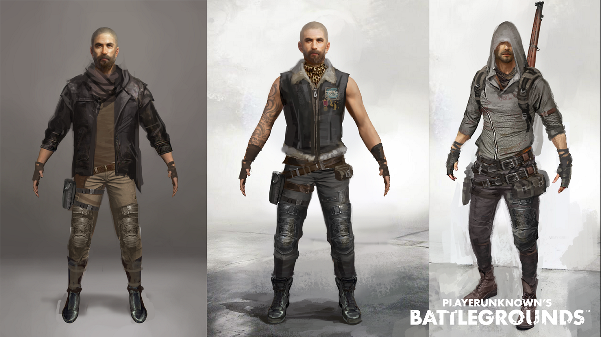 Pubg Character: Player's Unknown Battleground PUBG