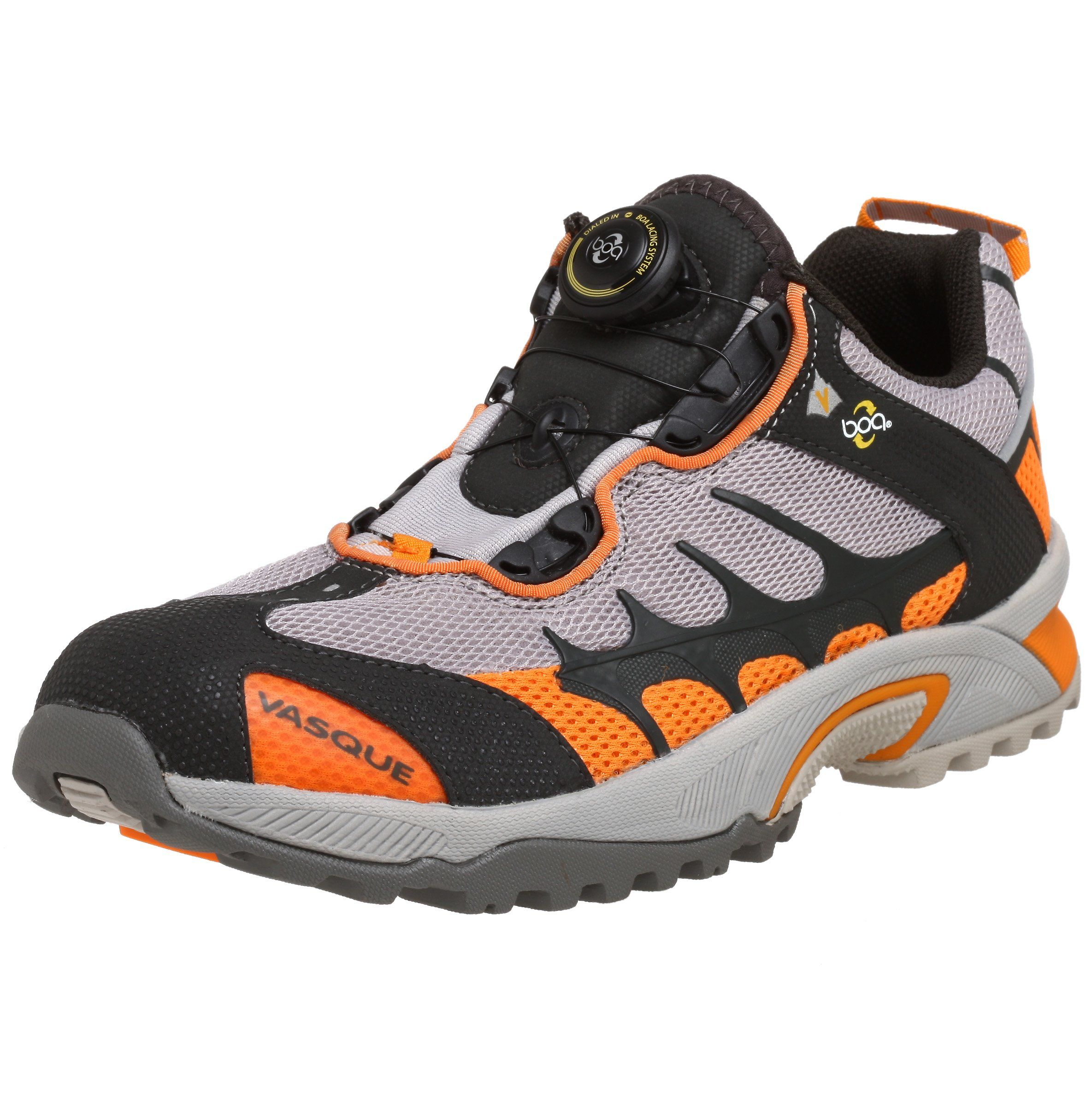 Vasque Mens Aether Tech Trail RunnerDove/Orange8 M US