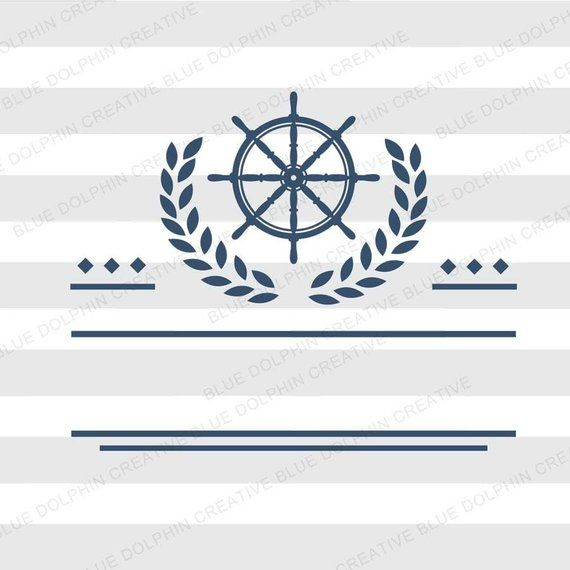 Nautical Ship's Wheel sign SVG, png pdf jpg ai dxf, Cricut