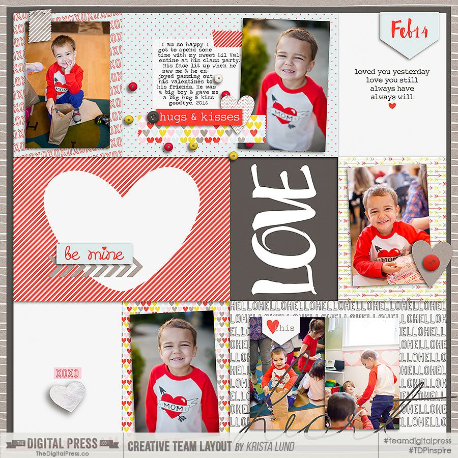 Tdpklfebmysweetvalentinejase project life scrapbooking