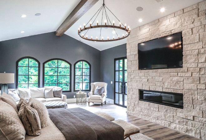 Bedroom Fireplace Stone Fireplace In Bedroom Bedroom Natural