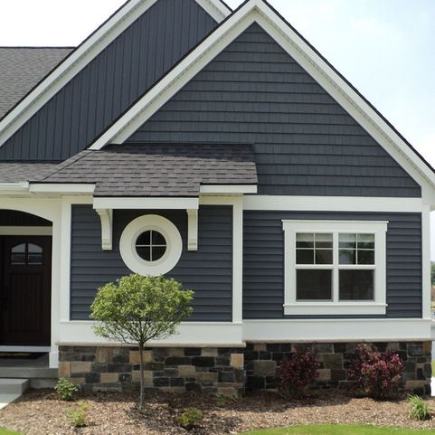 Vinyl Siding Design Ideas, Pictures, Remodel and Decor | New House ...