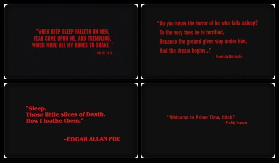 A Nightmare On Elm Street A Nightmare On Elm Street How To Fall Asleep Nightmare On Elm Street