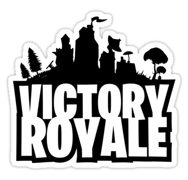 Victory Royale Fortnite Stickers Gamersticker Gamestickers