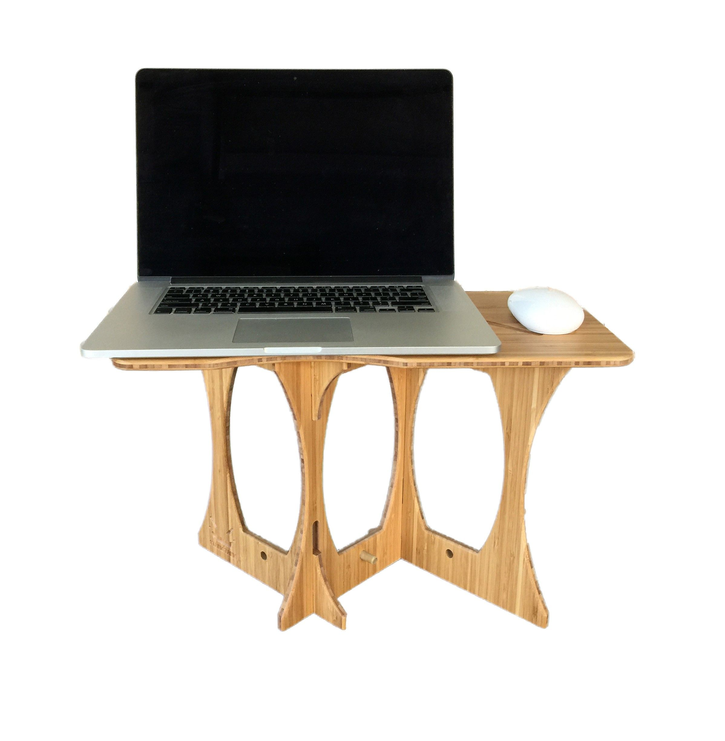StandStand Mouse (Bamboo) | StandStand | Portable Standing Desk ...