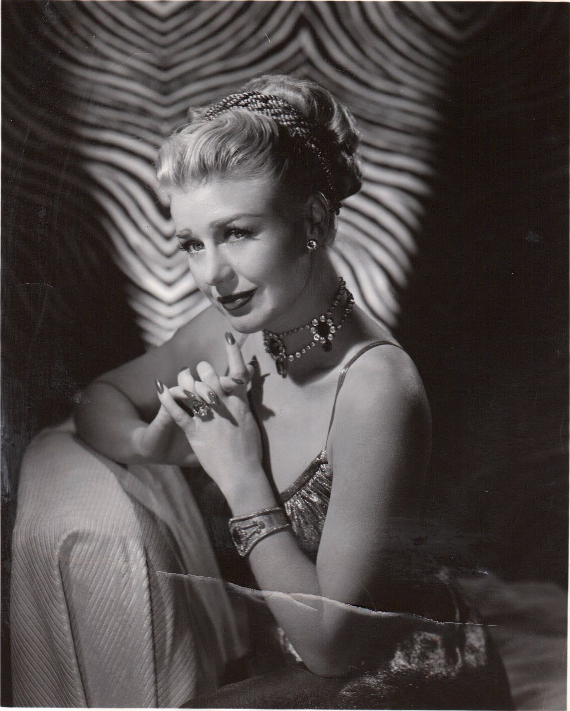 Ginger Rogers The Barkleys of Broadway 1949 wearing Joseff Hollywood Jewelry
