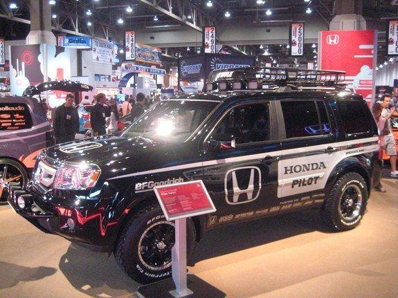 Custom Honda Pilot Roof Racks   Google Search