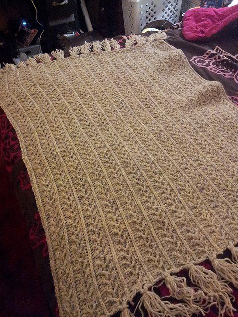 Fishermans Afghan Pattern By Jaclyn Ott Crochet Ii Afghans