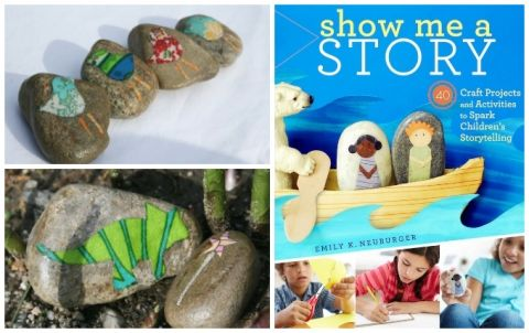 Story Stones Ideas and Show Me a Story Book