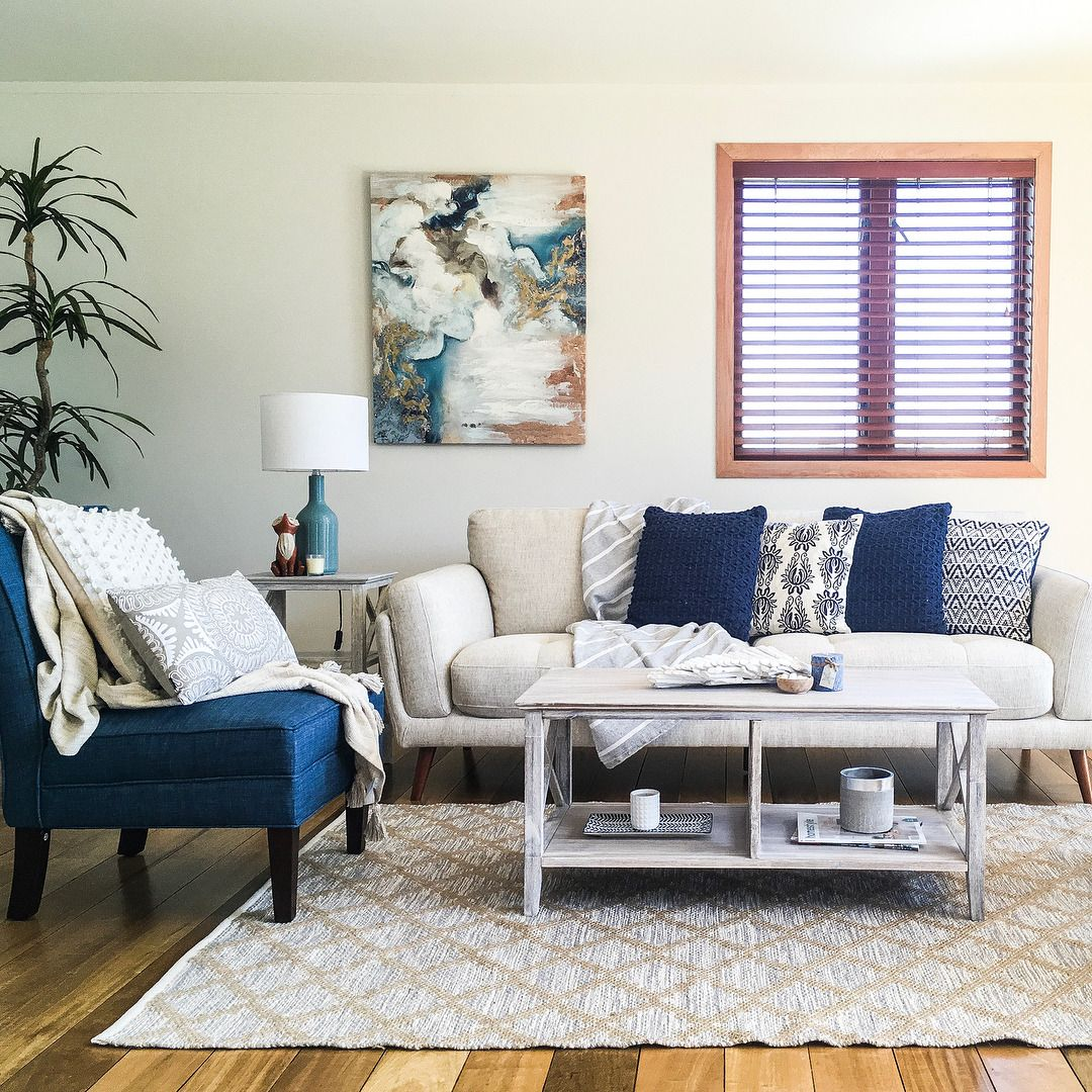Interior Design Home Staging: We Love This Hamptons Inspired Home By #IDIstudent Natalie