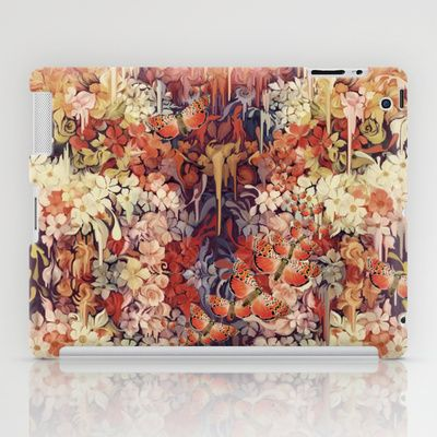 #floralipadcase, #meltingflowers, #retrocase