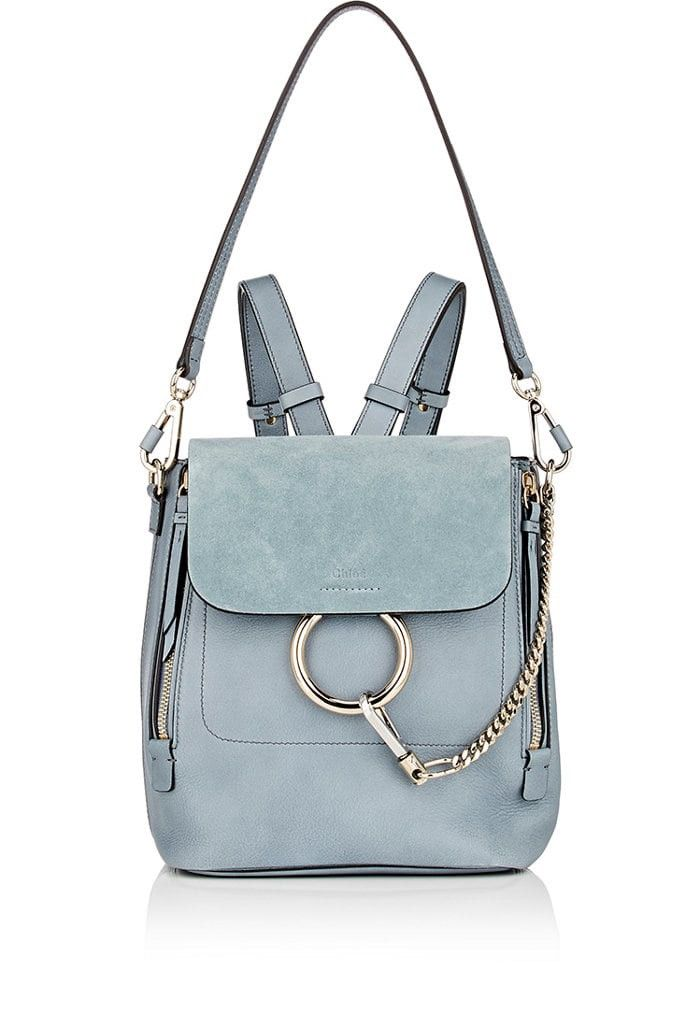 4f75854853 Chloe Faye Small Backpack - Lt. Blue 1 Sz