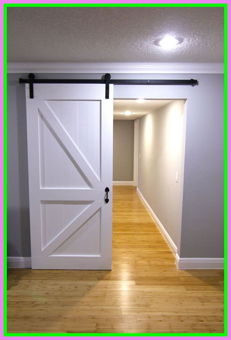 48 Reference Of Barn Door Interior White In 2020 Farmhouse Doors