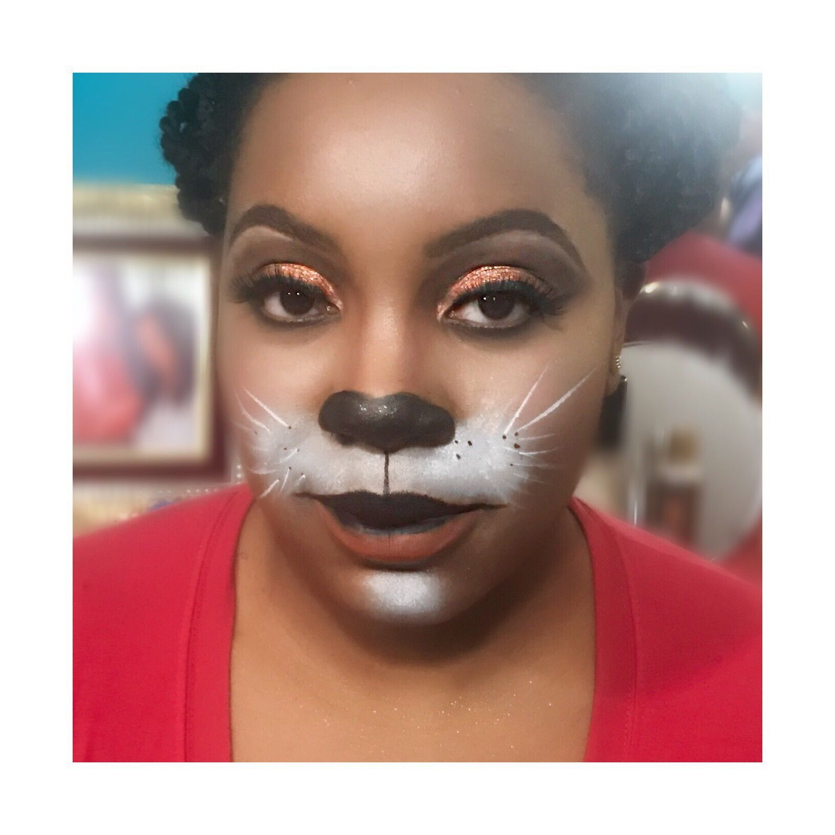 happy halloween makeup look done by me follow me on ig