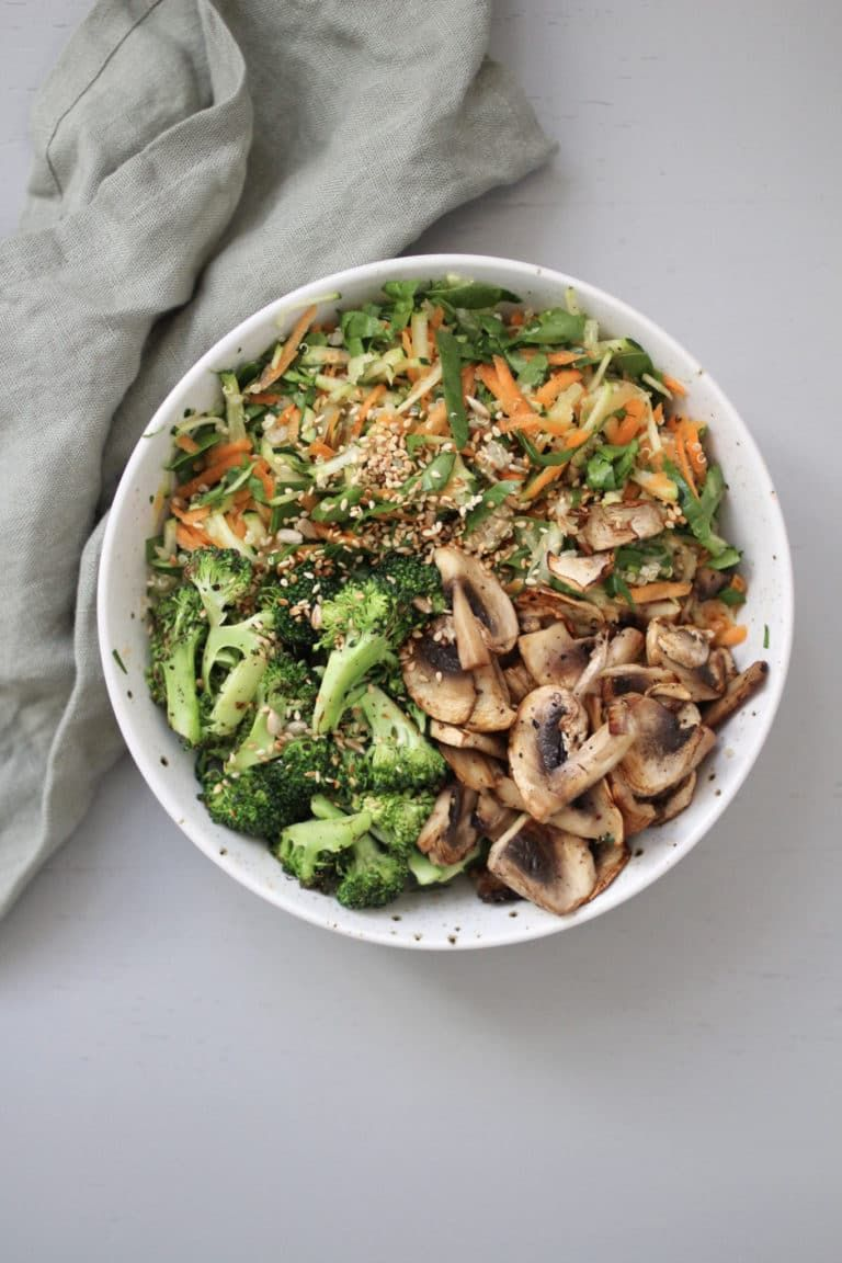 Lemon Garlic Kale Salad with Pecorino Recipe | TasteSpotting