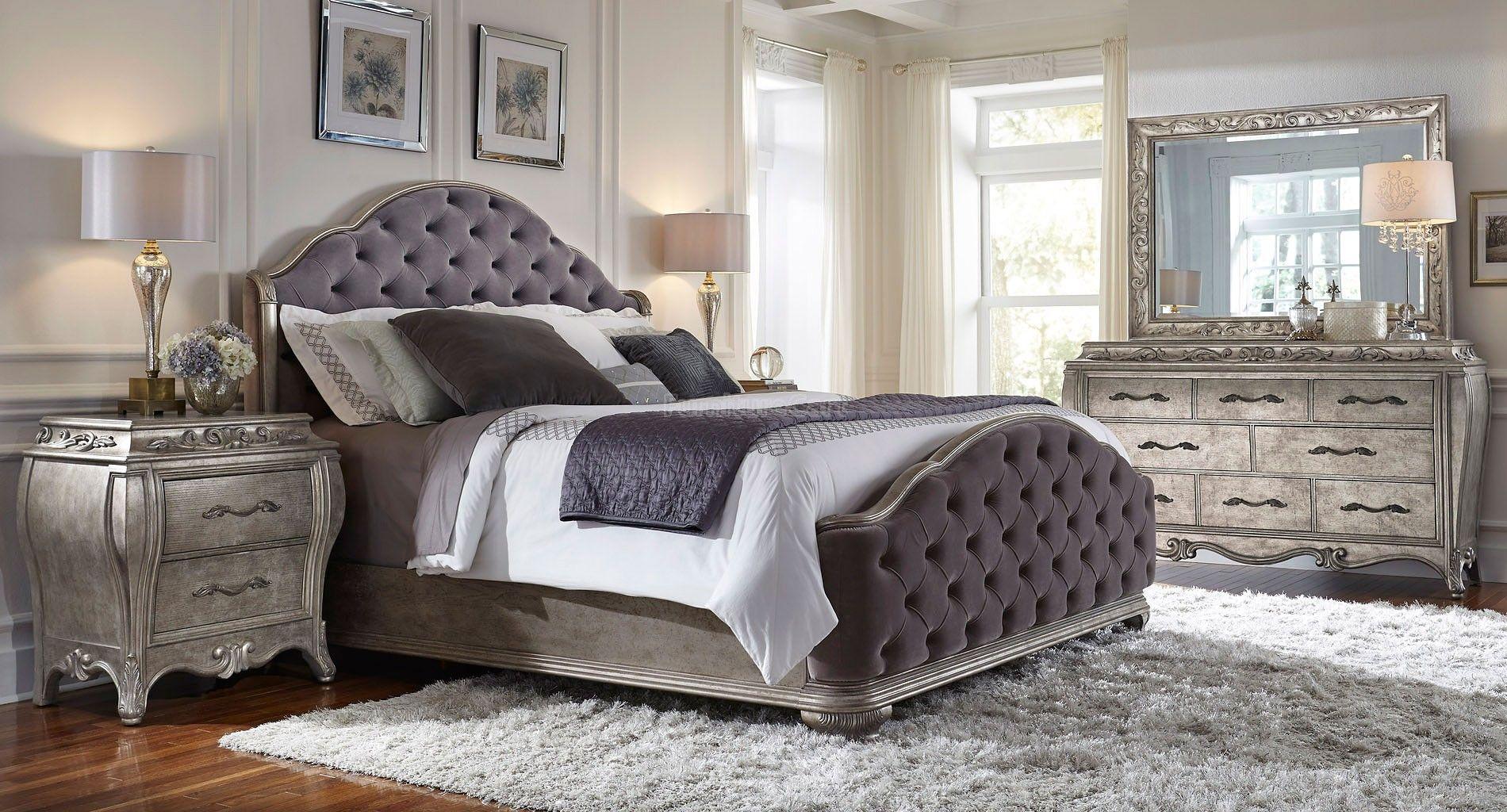 Rhianna Upholstered Bedroom Set Pulaski Furniture